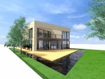 rendering architect (rechtsachter)