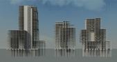 WTC\'s Almere vooraanzicht (BIM)
