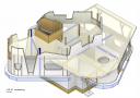 hoofddraagconstructie, 1e verdieping