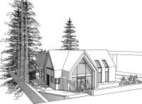 Villa te Bussum: houtskeletbouw in combinatie met strobouw