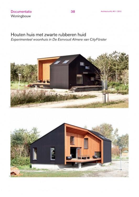 Rubber House in ArchitectuurNL #01-2012