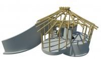 constructief advies nieuwbouw vakantiewoning te Harfsen