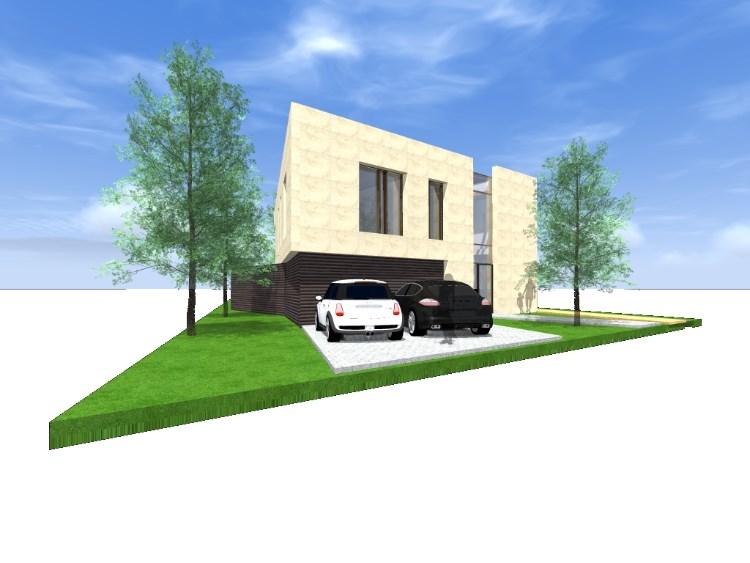 Nieuwbouw villa constructief ontwerp hoofddraagconstructie for Dat architecten